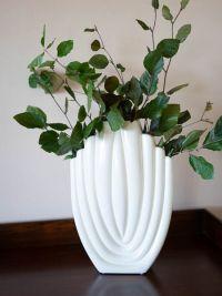 Ceramic Ivory Vase