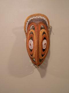 Papua New Guinea Yam Mask