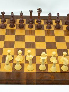 Vintage Wood Chess Set