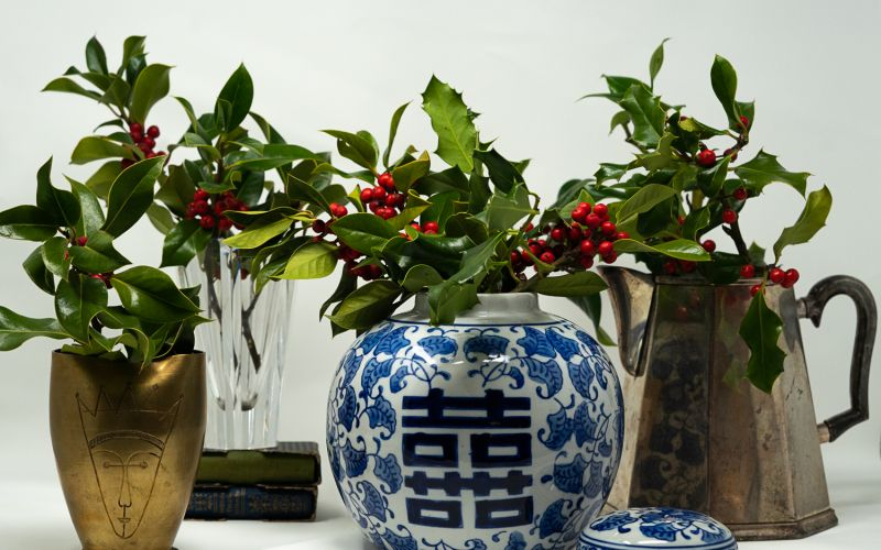 Holiday Vases
